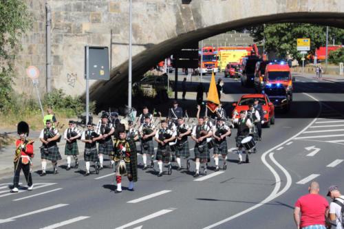 2018, Korso 150 Jahre Berufsfeuerwehr Dresden, Dresden